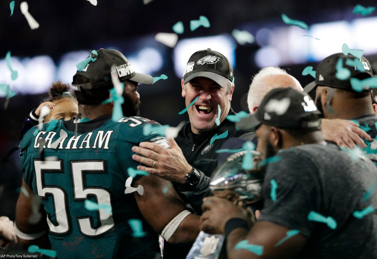 Doug Pederson carries Nick Foles to Super Bowl Title